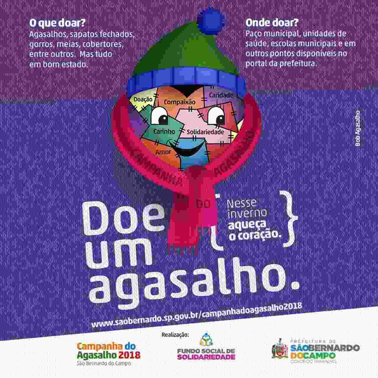 São Bernardo lança Campanha do Agasalho 2018 e apresenta mascote da ação 5036557672e